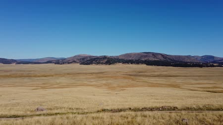 Morning view of the beautiful Valles Caldera National Preserve area at New Mexico