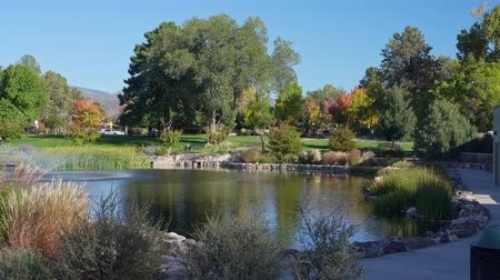 new mexico : Morning view of the Ashley Pond Park at Los Alamos, New Mexico