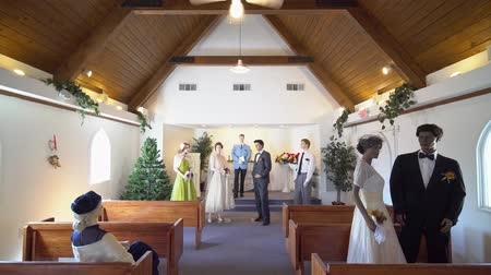 local de culto : Las Vegas, JAN 7: Interior view of the Candlelight Wedding Chapel on JAN 7, 2020 at Las Vegas, Nevada