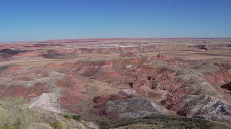 Beautiful landscape of Tiponi Point, Petrified Forest National Park at Arizona