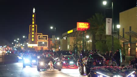 izzók : Henderson, DEC 14: Night view of the WinterFest parade on DEC 14, 2019 at Henderson, Nevada