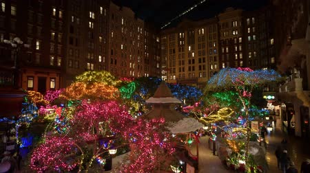 Лас Вегас : Las Vegas, DEC 12: Interior view of the Sams town in Christmas decoration on DEC 12, 2019 at Las Vegas, Nevada