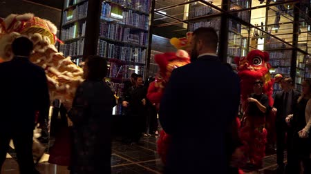 dans : Las Vegas, Jan 28: Interior view of the Chinese New Year event in the Cosmopolitan on JAN 28, 2020 at Las Vegas, Nevada