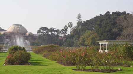 los angeles : Afternoon sunny view of Exposition Park Rose Garden at Los Angeles, California