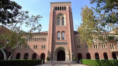 講堂 : Afternoon sunny view of the Bovard Auditorium of USC at Los Angeles, California