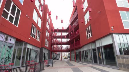 chinees nieuwjaar : Los Angeles, Jan 16: Exterior view of the Blossom Plaza in Chinatown area on JAN 16, 2020 at Los Angeles, California Stockvideo