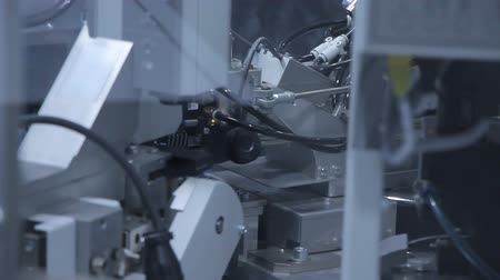 standardization : The robot performs a task in the automotive industry