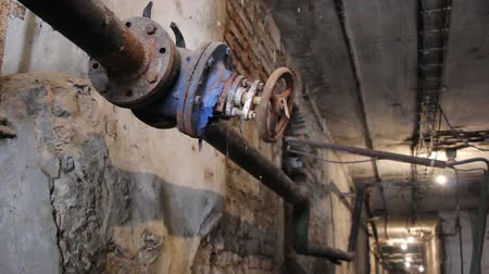 Old valve in the factory