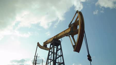 oil industry : Working oil pumps. oil industry equipment