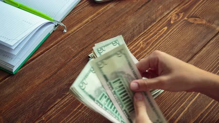 loans : Finance wealth human hand holding dollar currency