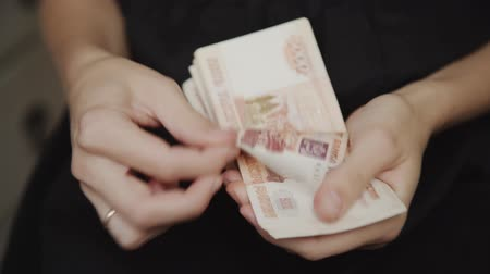 loans : woman said a lot of money, bills of 5000 rubles