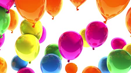 to celebrate : Balloons 3d Animation
