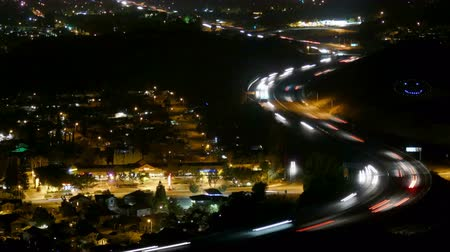 arrabaldes : Simi Valley Dusk Time Lapse with Zoom