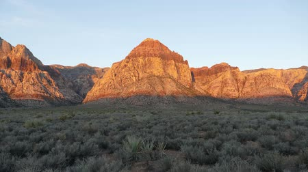 nevada : Red Rock Canyon Time Lapse - Las Vegas Nevada Stock Footage