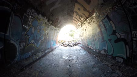 mroczne : Graffiti Tunnel Los Angeles