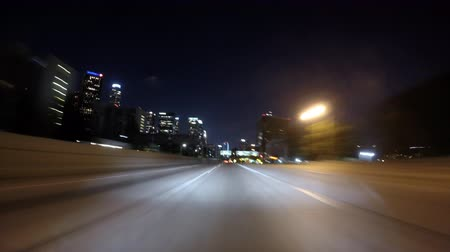 řídit : Night driving time lapse in Los Angeles.