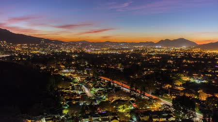 gün : Suburban Southern California Sunset Time Lapse