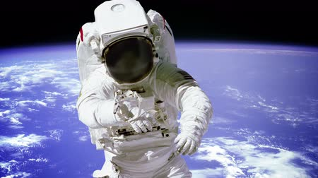 astronauta : Astronaut Spacewalk On.