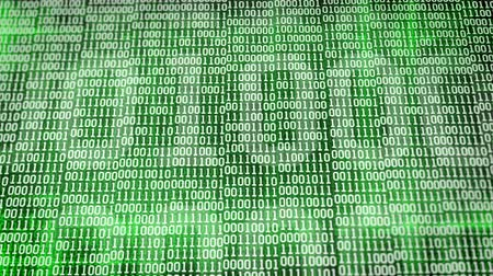 code : binary code Stock Footage