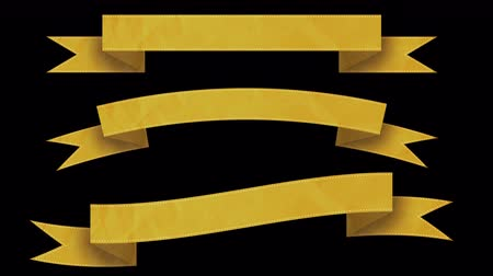 záložka : Animated ribbon banners for your text. Yellow. Dostupné videozáznamy