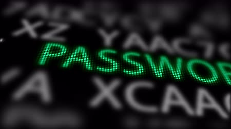 hozzáférés : Green Word-Password-between searching of abstract passwords or trials.