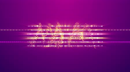 ziguezague : A gorgeous 3d rendering of shining zigzag musical spirals with two big golden notes. They are sparkling on the light violet background and create the spirit of fun, joy and mucial show.