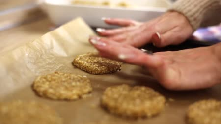 изюм : homemade oatmeal cookies