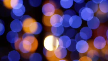 filtro : Bokeh Christmas illumination in defocus. Blurry background