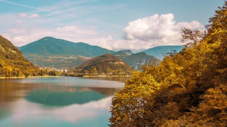 iluminado pelo sol : Beautiful timelapse to the Corlo lake by day