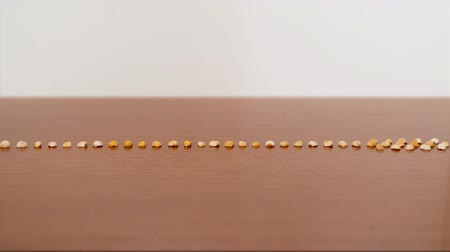 zupa groszek : Polished Split peas in stop motion
