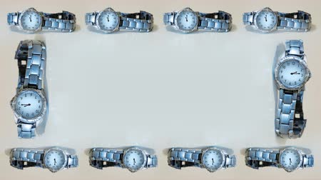 dia : Frame of wristwatches in timelapse