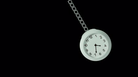 Pocket watch oscillates in a hypnotic way