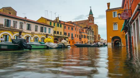 Little Venice, Chioggia, with high water