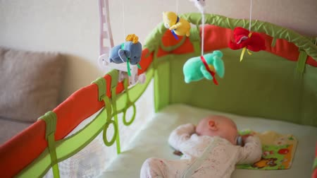 ниппель : Little Baby Sleeping Sweet in the Crib