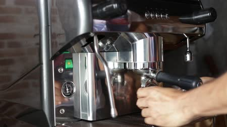 coffee press : Full process of making Espresso coffee