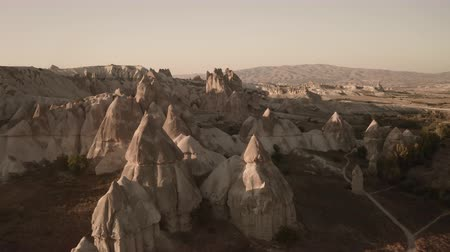 Valley of Love in Cappadocia. One of the most beautiful places. Drone shooting