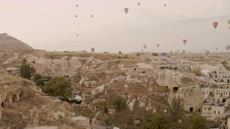 palmo : Cappadocia a very beautiful drone span over the fortress