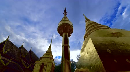 phra : 4K time lapse video of Phra Sing Waramahavihan temple, Thailand.