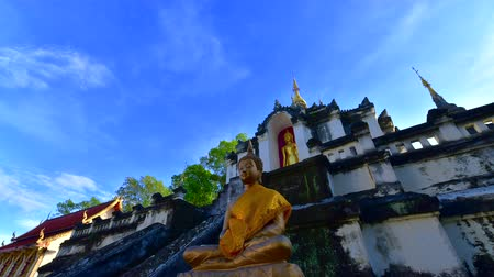4K time lapse video of Phra Yuen temple, Thailand.