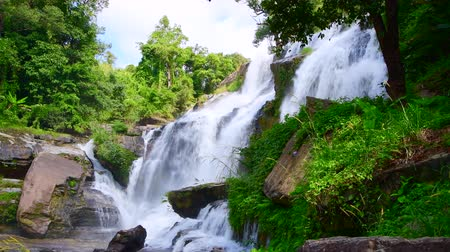 4K video of Mae Klang waterfall, Thailand.