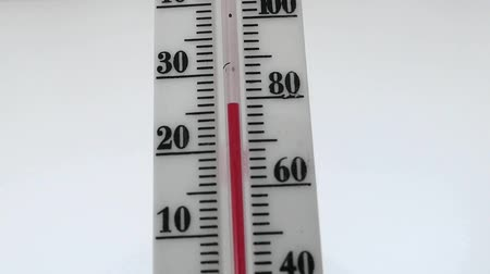 mercúrio : red mercury household temperature thermometer,