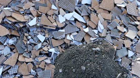 demolição : construction waste, stone, brick and tile waste, environmental pollution,