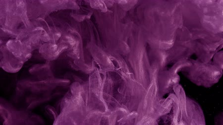 fresh air : Ink in water. Colour violet glitter paint reacting in water creating abstract cloud formations.Can be used as transitions,added to modern grunge projects,art backgrounds, anything with creative twist.