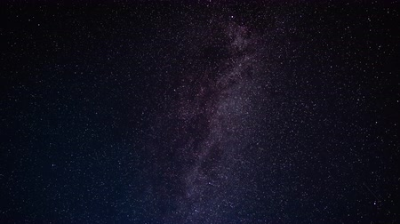 milkyway : Night sky with stars, Milky Way passing in long exposure timelapse. Beautiful panorama view. Nature, universe, galaxy, astronomy concept.