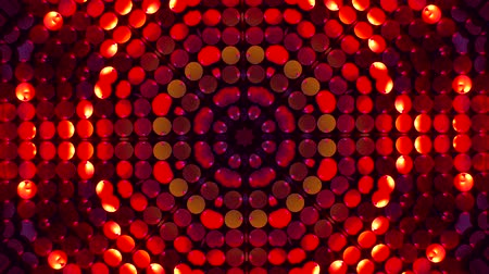 microbio : Abstract background. Kaleidoscopic. Red mandala-snowflake kaleidoscope sequence