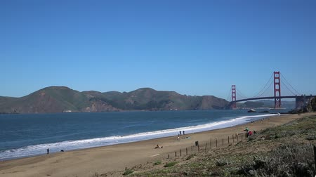 piekarz : Baker Beach  San Francisco California Wideo