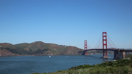 goldene : Golden Gate Strait- San Francisco, Kalifornien