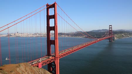 goldene : Golden Gate Bridge - Kalifornien