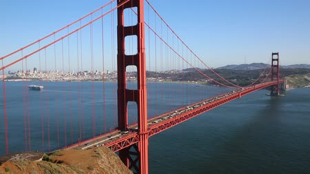 goldene : Nordseite der Golden Gate Bridge - San Francisco, Kalifornien
