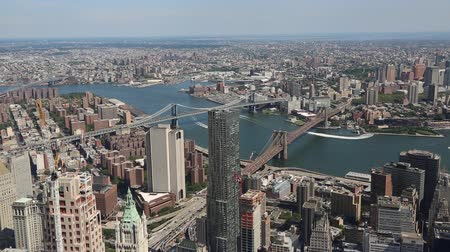 świat : New York City from One World Observatory